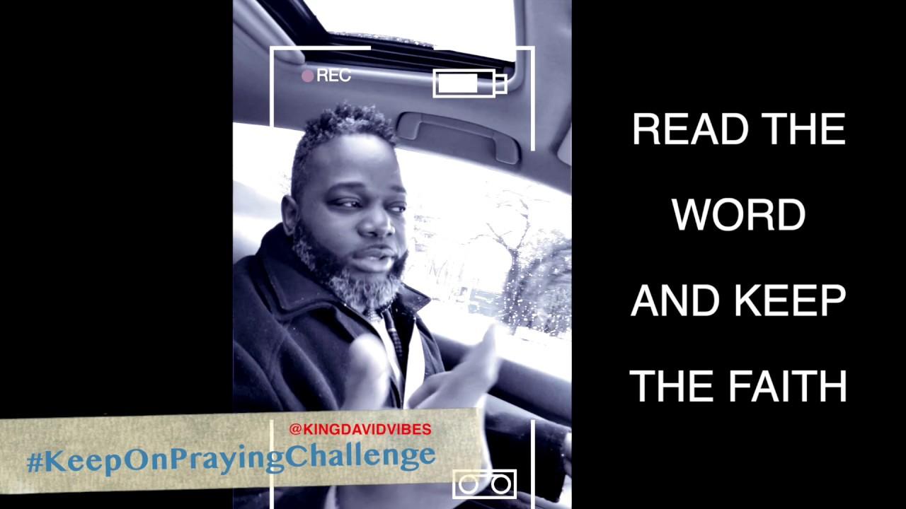 Gospel rap songs Keep Praying challenge